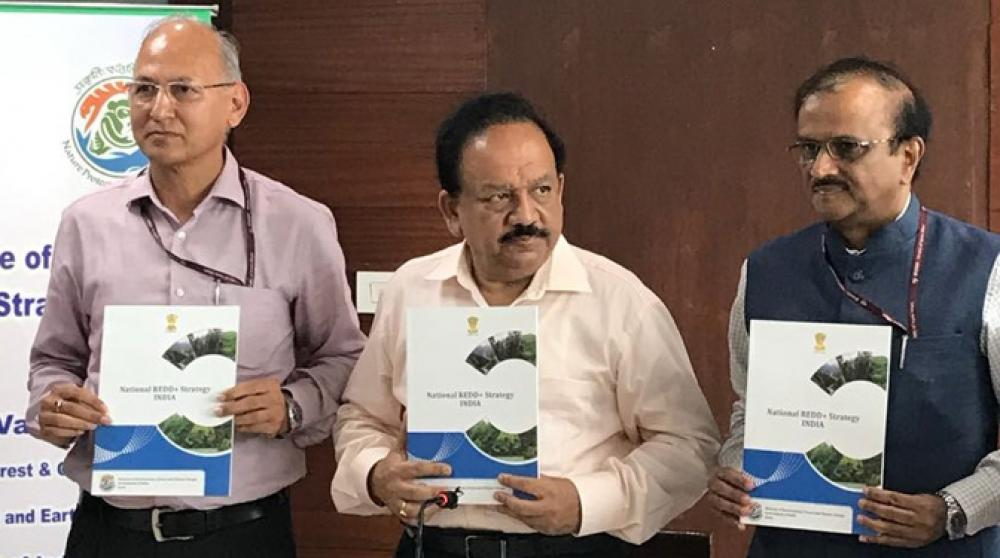 National REDD+ Strategy for India prepared by ICFRE, Dehradun