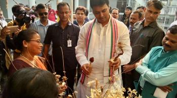 Honorable Chief Minister, Govt. of Tripura visited FRCLE, Agartala on 15th November, 2018