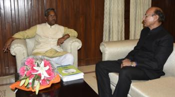 meeting with Shri T.S. Rawat, Chief Minister of Uttarakahand