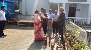Visit of Director General, ICFRE at FRCLE, Agartala on  22nd  November, 2018