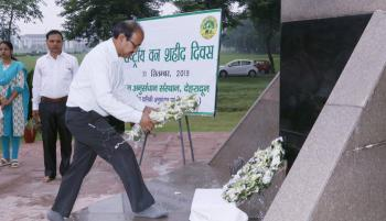 National Forest Martyrs Day observed at Forest Research Institute, Dehra Dun on 11th September, 2019